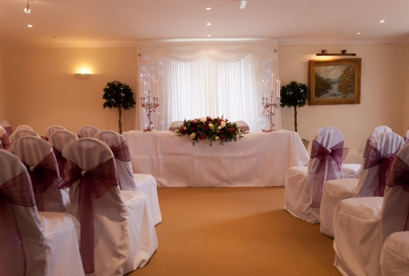 The Ceremony Room Mannings Heath Hotel