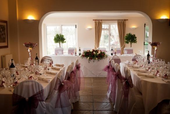 Venue Styling - Wedding Breakfast