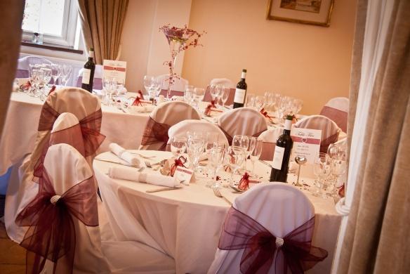 Venue Styling - Wedding Breakfast.