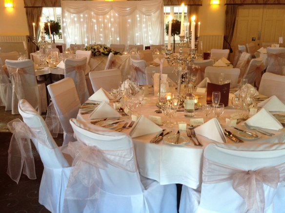 Ghyll Manor looking beautiful dressed in Classic Vintage Style Theme ...